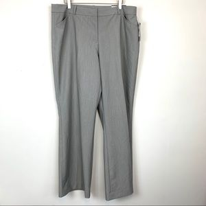 NWT Worthington Pants Size 18 Trouser Modern Fit